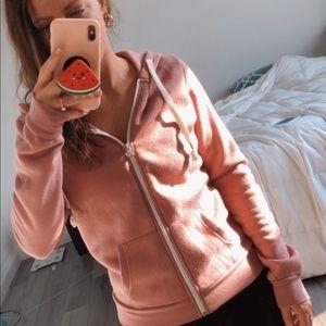 Pink Ardene Zip Up Hoody